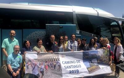 19.07.12 Voluntarios OHL En Camino De Santiago Down Madrid