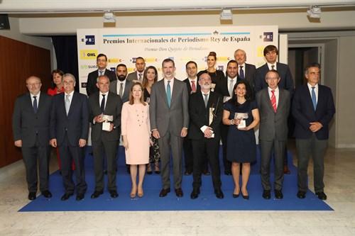 180424 OHL Presente En XXXV Premios Periodismo