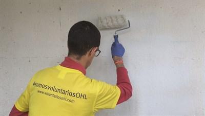18.04.28 Voluntarios OHL Participa En Una Jornada Solidaria