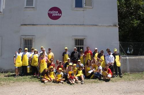 16.07.22 Voluntarios OHL Barcelona Organiza El Primer Taller De Cocina