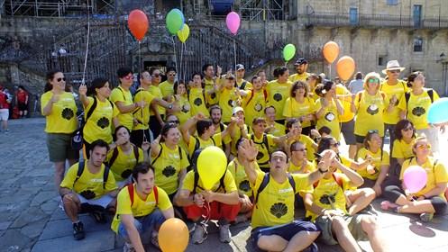 16.07.14 Voluntarios OHL En El Camino De Santiago (1)