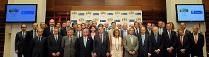 Imagen que muestra a Juan-Miguel Villar Mir participando en el acto de reconocimiento de la Candidatura Olímpica de Madrid 2020