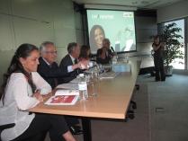Imagen que muestra a OHL y la Fundación Adecco presentado la guía Diferentes, una iniciativa para para eliminar las barreras sociales