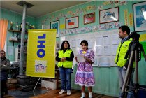 El grupo OHL, a través de su Agencia en Chile, ha puesto en marcha en la región nuevas actividades de acción social
