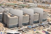 Imagen que muestra el Centro Médico y de Investigación de Sidra en Doha (Catar), referente en la prevención de riesgos laborales por la correcta adecuación por parte de OHL