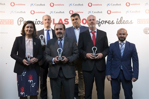 18 05 29 OHL Recibe El Premio 100 Mejores Ideas Del Año