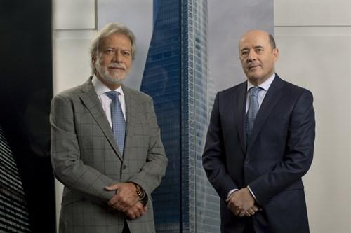 Luis Amodio y José Antonio Fernández Gallar, presidente y CEO de OHL