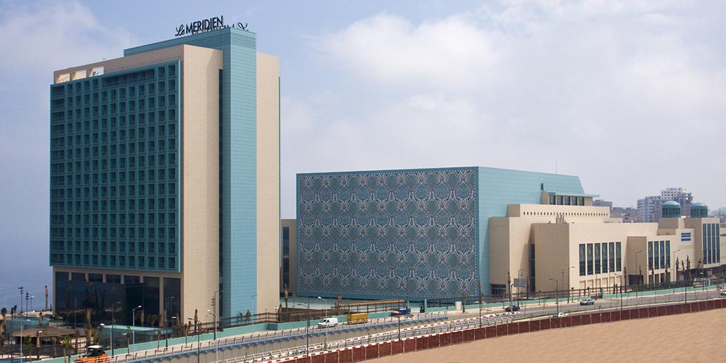 Centro de convenciones de Orán. Argelia