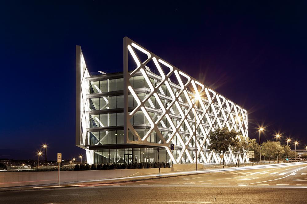 Edificio OXXEO. Madrid, España