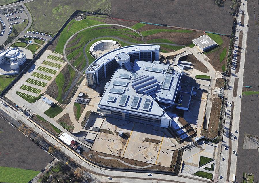 Hospital Militar de la Reina. Santiago de Chile, Chile