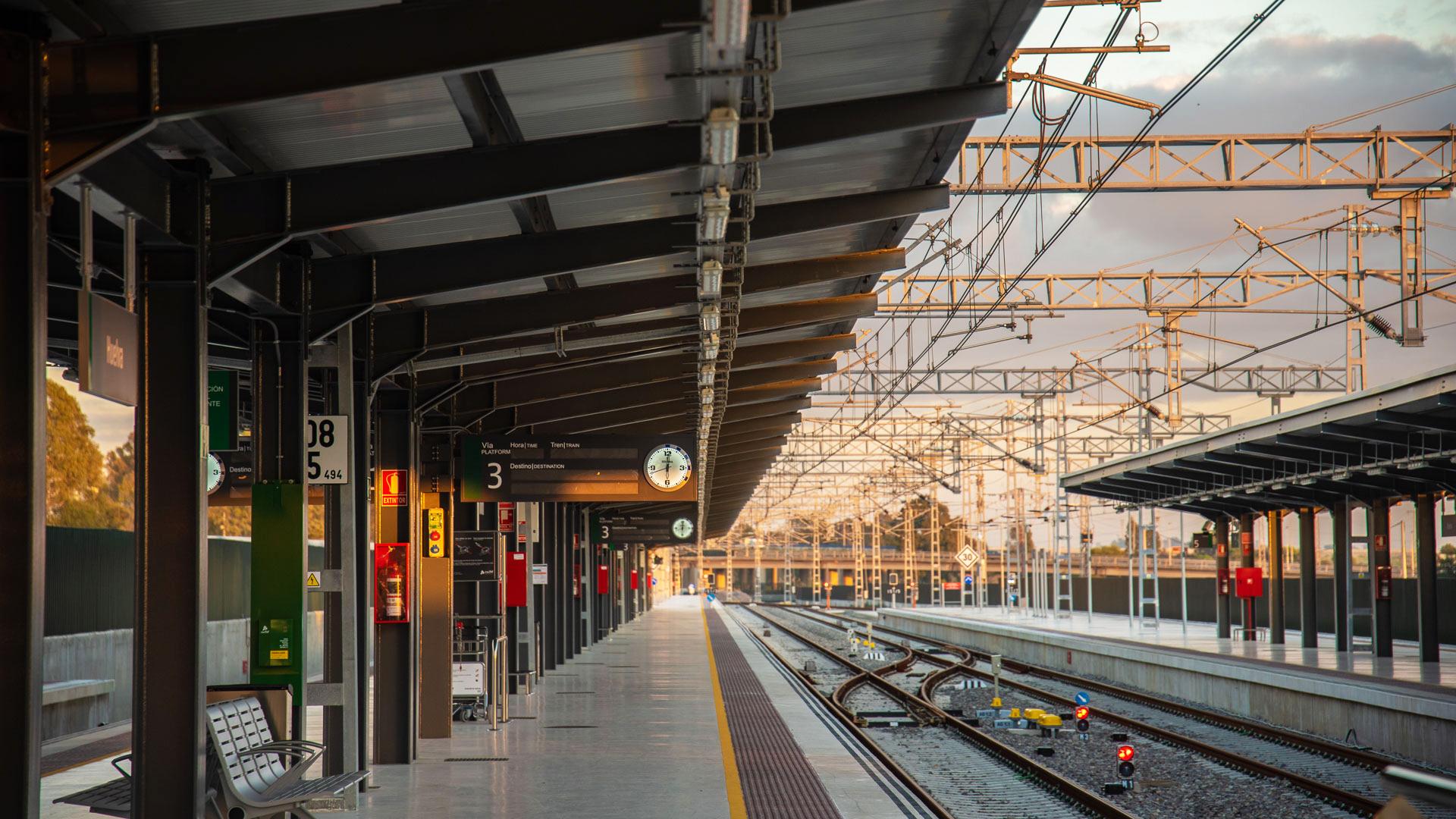 Estación de Huelva. España