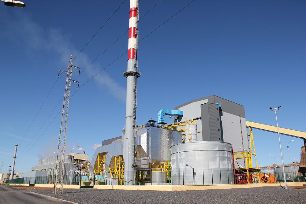 Planta de Biomasa de 50 MW. Huelva, España