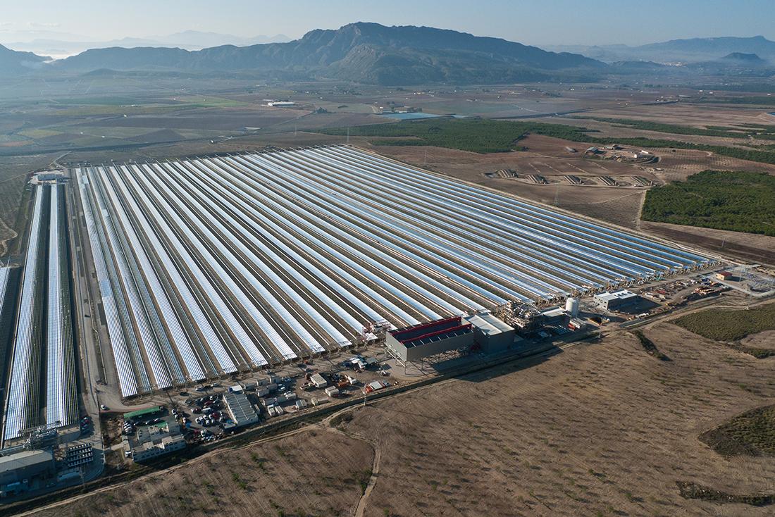 Planta termosolar 30MW en Calasparra. Murcia, España