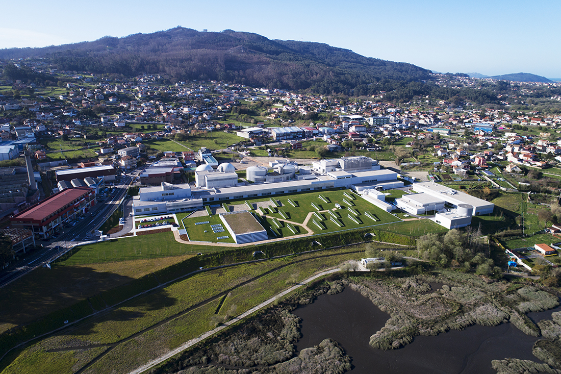 EDAR de Lagares. Vigo, España