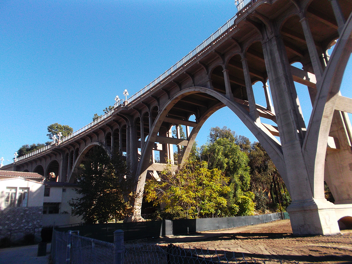 Puente avenida La Loma. California, EEUU
